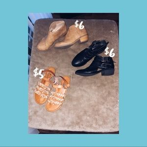 Booties & Sandals